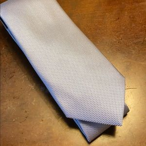 Elegant Blue and Silver Banana Republic Tie
